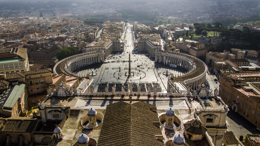 How rich is the catholic church: Vatican city