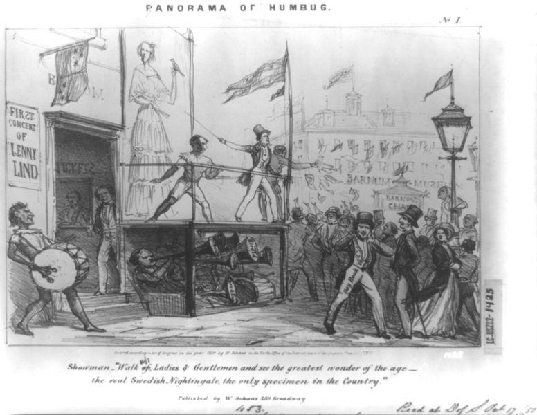 Victorian entrepreneur: P.T. Barnum