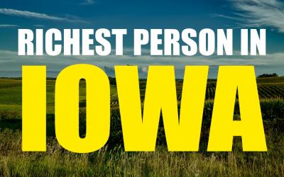 The Richest Person In Iowa – Harry Stine
